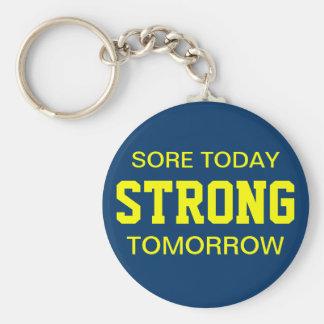 Workout Motivation Keychain