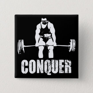 Workout Motivation Pinback Button