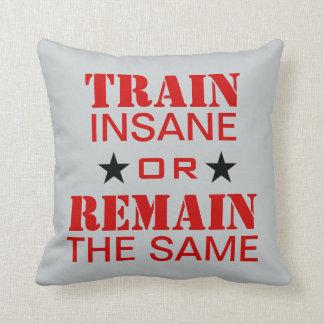 Workout Motivation Throw Pillow