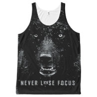 Workout Motivational All-Over Print Tank Top