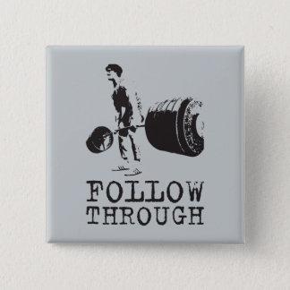 Workout Motivational Button