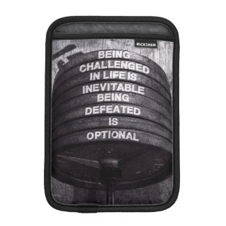 Workout Motivational iPad Mini Sleeve
