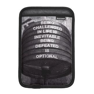 Workout Motivational iPad Mini Sleeve