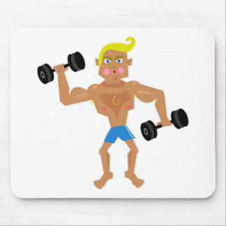 Workout Mouse Pad
