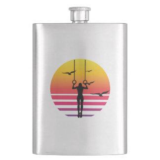 workout retro sunset, #workout flask