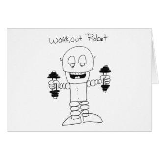 Workout Robot Card