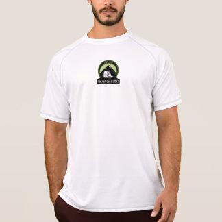 workout short sleeve round logo T-Shirt