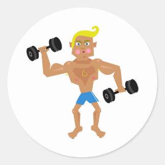 Workout Sticker