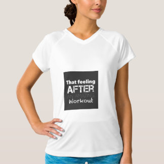 Workout T-shirt for gym lovers!!