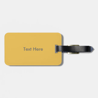 Workout T-shirt Graphic Luggage Tag