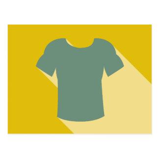Workout T-shirt Graphic Postcard