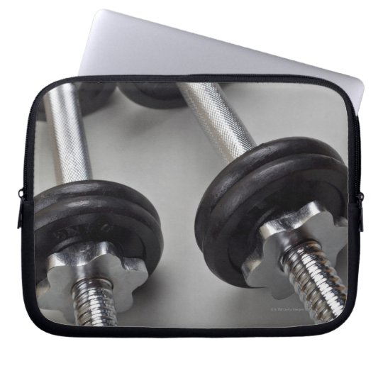Workout weights laptop sleeve