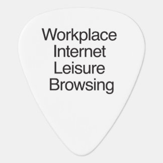 Workplace Internet Leisure Browsing.ai Guitar Pick