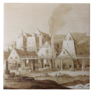 Works at Blaenavon, from 'An Historical Tour in Mo Ceramic Tiles