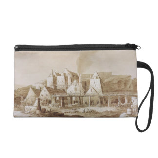 Works at Blaenavon, from 'An Historical Tour in Mo Wristlet Purse