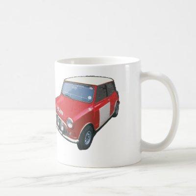 Works Austin Mini Cooper S CRX 88B Mug | Zazzle.com