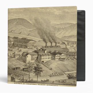 Works of Central Glass Company in West Virginia 3 Ring Binder