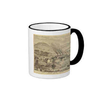 Works of Central Glass Company in West Virginia Mugs