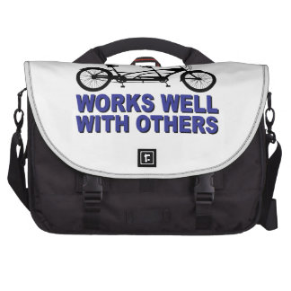 Works Wel with others Laptop Bag
