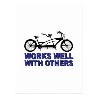 Works Wel with others Postcards