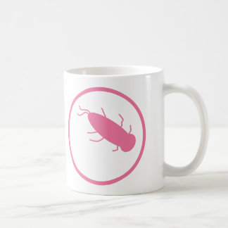 works with very small, dangerous organisms coffee mug