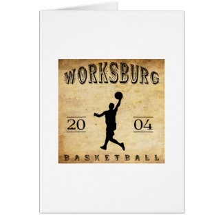 Worksburg Outfitters Basketball #1 Card