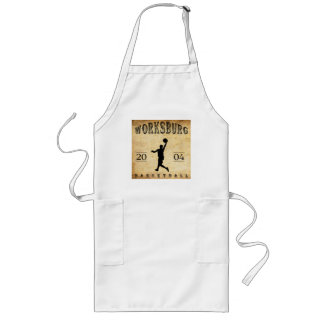 Worksburg Outfitters Basketball #1 Long Apron