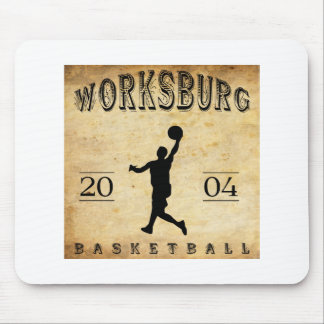 Worksburg Outfitters Basketball #1 Mouse Pad