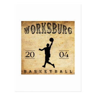 Worksburg Outfitters Basketball #1 Postcard