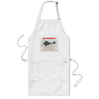 Workshop apron with Fairey Swordfish photo & specs
