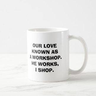 Workshop Classic White Mug