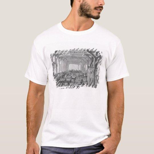 Workshop of Pleyel pianos makers T-Shirt