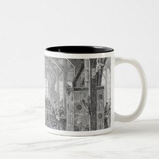 Workshop of Pleyel pianos makers Two-Tone Coffee Mug