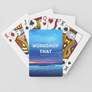 Workshop That Playing Cards