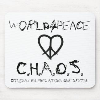 World4Peace - C.H.A.O.S. Mouse Pad