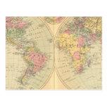 World 10 postcard