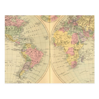 World 10 postcards