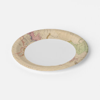 World 2 paper plate