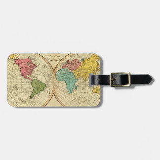 World. 3 tag for luggage