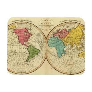World 3 vinyl magnet