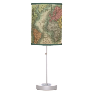 World 4 table lamps