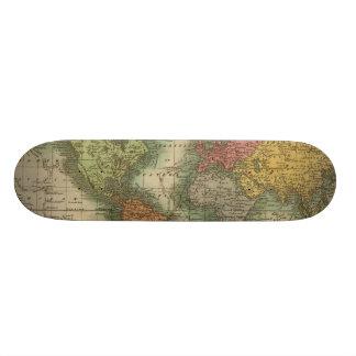 World 4 skateboard deck