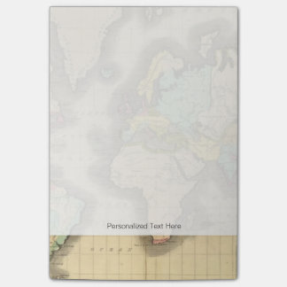 World 6 post-it® notes