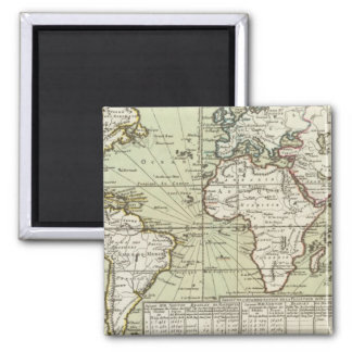 World 8 2 inch square magnet