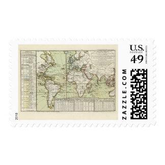 World 8 stamp