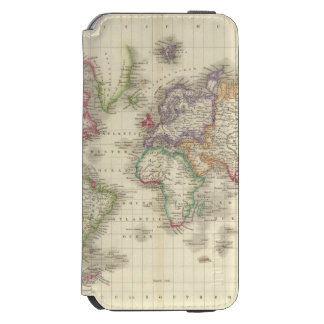 World 9 iPhone 6/6s wallet case