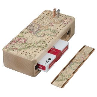 World 9 wood cribbage board