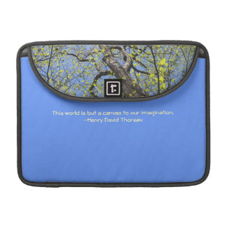 World: a canvas to our imagination: Laptop Sleeve Sleeves For MacBook Pro