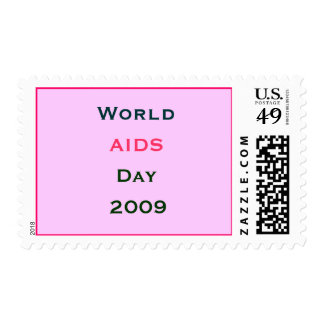 World AIDS Day 2009 Stamp