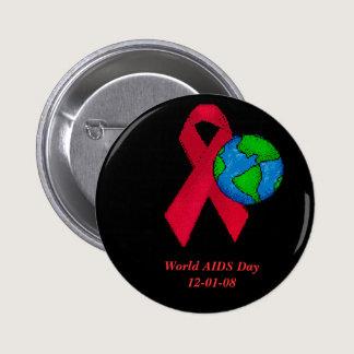 World AIDS Day Button